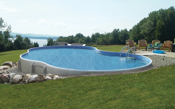 Hybrid Swimming Pool
