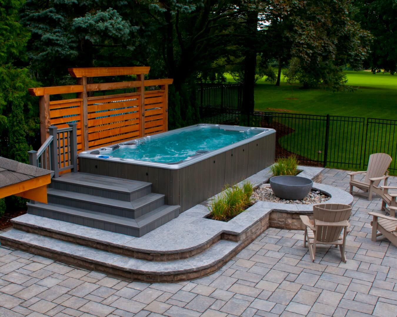 Backyard Leisure Swim Spa