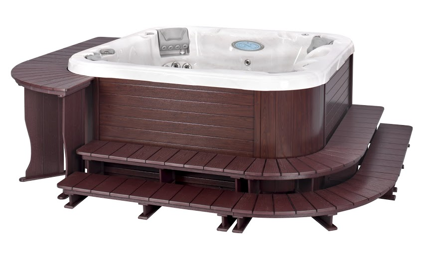 Hybrid Style 5 for Dimension One Spa in Cherry
